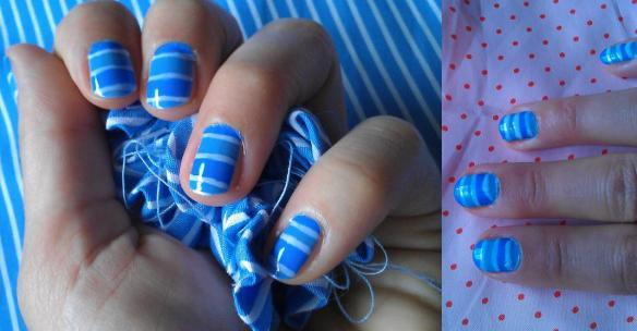Blue-stripe-mani-left-right-hand